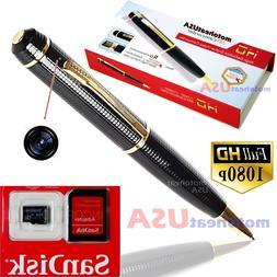 Mini Full HD DV USB DVR Cam Hidden Spy Pen Video Camera Reco