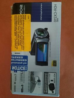 Mini DV Video camera Sony HDR CX210 color silver. Portable,