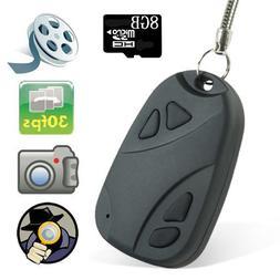 Mengshen® Mini DVR 808 Lens D Car Key Chain Hidden Spy Came