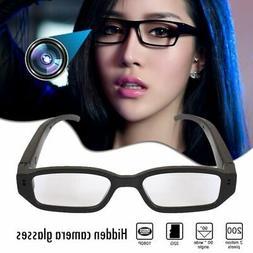 Mini HD 1080P 720P Hidden Spy Camera Glasses Eyewear Eyeglas