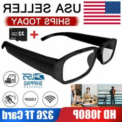 HD 1080P Spy Glasses Hidden Eyewear Camera Video Recorder DV