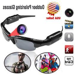 Mini HD Spy Camera Glasses Hidden Eyeglass Sunglasses Cam Vi