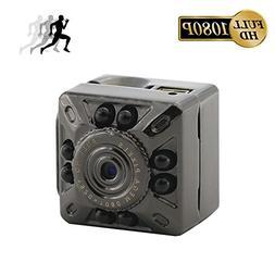 Mini Hidden Camera, Heymoko 1080P/720P Full HD 8 LED Infrare