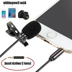Mini Lapel Microphone with Clip for iPhone X 8 7 Plus / iOS/