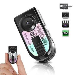 Toughsty 16GB Mini Pocket DV Camera Small Compact Travel Dig