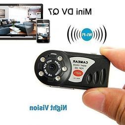 Novelt'y Mini Q7 WIFI P2P Surveillance Spy Remote Camera DVR
