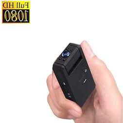 Zarsson Mini Spy Hidden Camera, Portable 1080P Nanny Cam DV
