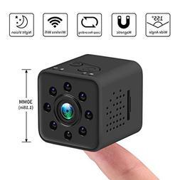 Crazepony Mini Spy Hidden Camera SQ23 1080P HD Mini WiFi Cam