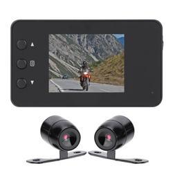 "Motorcycle Bike Car 3"" LCD Action Dual Camera Dash Cam Video"