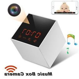 Panoraxy Music WiFi Hidden Camera,Invisible Lens,Wireless St