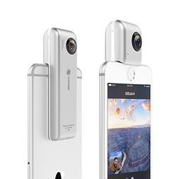 Insta360 Nano 360 Degree Camera VR 3D Panoramic Point and Sh