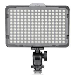Neewer Photo Studio 176 LED Ultra Bright Dimmable on Camera
