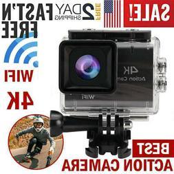 NEW 4K Waterproof Sports Camera HD DV Car Action Video Recor