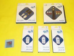 NEW Assorted Lot Flip Video Mini Tripod, 3x Battery Pack, &