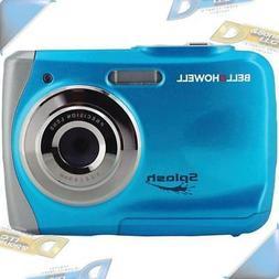 NEW BELL+HOWELL 12MP Waterproof Compact Digital Camera Blue