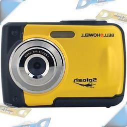 NEW BELL+HOWELL 12MP Waterproof Digital Camera Yellow 8x dig