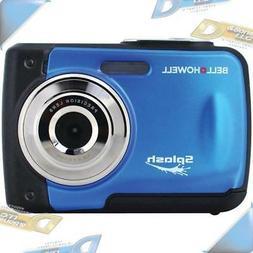 NEW BELL+HOWELL 12MP Waterproof Digital Camera Blue 8x digit