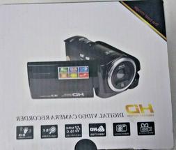 NEW Black HD Video And Digital Camera Recorder Camcorder