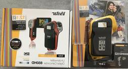 New Vivitar DVR-850HD Underwater Video Digital Camcorder Del