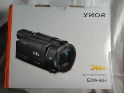 NEW SONY FDR-AX53 4K HANDYCAM VIDEO CAMERA CAMCORDER BRAND N