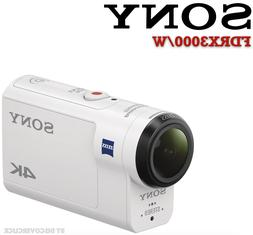 NEW Sony FDRX3000/W Underwater Camcorder WiFi Bluetooth GPS