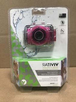 New! Vivitar HD Action Waterproof Camera / Camcorder - Hot P