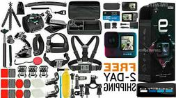 NEW GoPro HERO 9 Black 5K Video +  ***Deluxe Accessories Meg