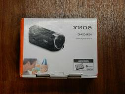 New in Box - Sony Handycam HDR-CX440 30x HD Camcorder - BLAC