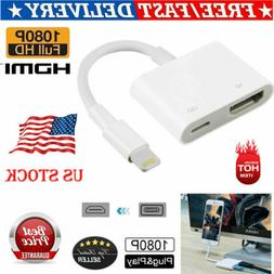 New Lightning to HDMI Digital AV TV Adapter Cable For iphone
