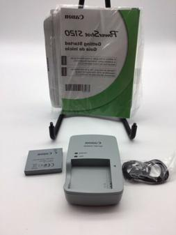 New Canon PowerShot S120 Accessories Only Owner Manual Charg