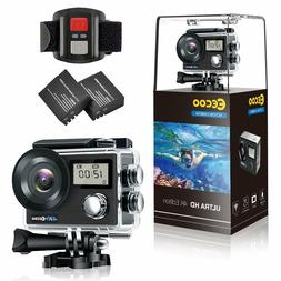 *NEW* Sports Action Camera 4K WIFI Double LCD Screen 12MP HD