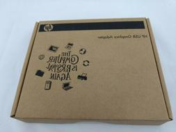 New HP USB Graphics Adapter NL571AA Sealed Box