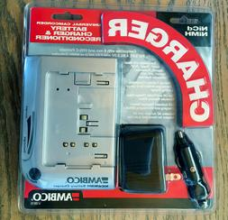 AMBICO  Ni-Cad and Ni-Mh Camcorder Battery Quick Charger