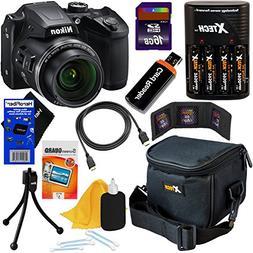 Nikon COOLPIX B500 16MP Wi-Fi, NFC Digital Camera w/40x Zoom