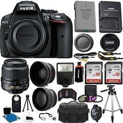 Nikon D5300 24.2 MP CMOS Digital SLR Camera  With Nikon 18-5