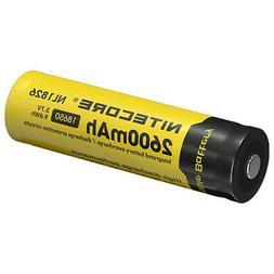 NITECORE NL1826 2600mAh 18650 Rechargeable Li-ion Battery
