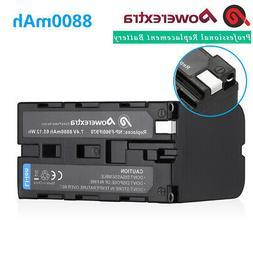8800mAh NP-F970 Battery for Sony NP-F770 NP-F950 NP-F960 B L