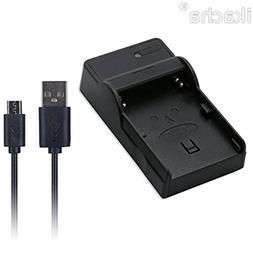 NP-FV50 NP-FV70 NP-FV100 USB Battery Charger For <font><b>So