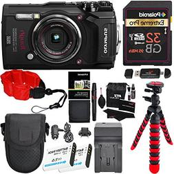 Olympus Tough TG-5 Digital Camera , Polaroid 32GB Memory Car