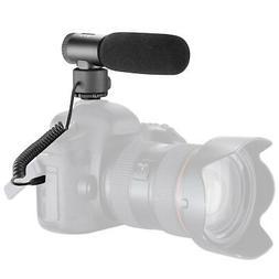 Neewer On-camera Full Metal Shotgun Microphone for Canon Nik