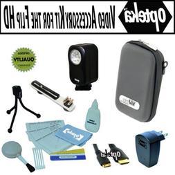 Opteka Professional Video Accessory kit for the Flip Ultra U