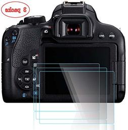 PCTC Canon EOS 70D 80D Tempered Glass Screen Protector Skin