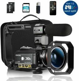 Ordro AC3 4K Camcorder HD Digital Video Camera 1080P 60FPS I