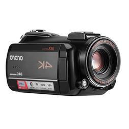 Ordro AC5 4K UHD12X Digital Video Camera FHD 24MP WiFi IPS T