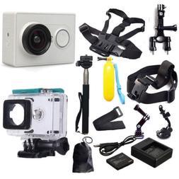 Original 1080P Xiaomi Yi Sport Action Camera Accessories Kit