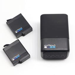 Original GoPro AABAT-601 Batteries + Dual Charger for GoPro