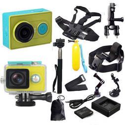Original XiaoMi Yi WIFI Sports Action Camera+All Accessories