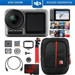 DJI Osmo Action Cam Digital Camera 4K HDR Video 2 Displays A
