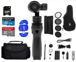 DJI Osmo Handheld 4K Camera and 3-Axis Gimbal Starter Bundle