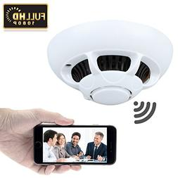 GZDL HD 1080P P2P Wifi Wireless Hidden Camera Smoke Detector